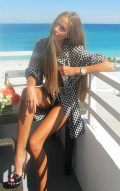 apparel clothing outfit women style fashion heels watch summer beautiful girl hot tanned
