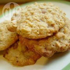 Recipe photo: Plain Oatmeal Cookies