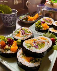 Thanks. Sushi, Ethnic Recipes, Rice, Food, Essen, Meals, Yemek, Laughter, Jim Rice