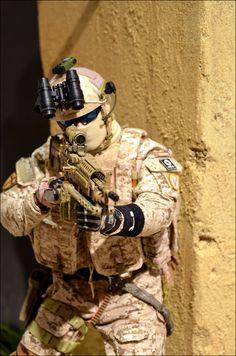 Custom 1/6 Navy Seal Team 6 Gunner photo by MarLin_67