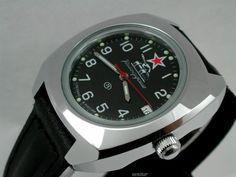 Russian VOSTOK Military KOMANDIRSKIE Watch 861306 New   eBay