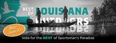 "COSTA team,   Congratulations. COSTA is on the final ballot for ""BEST SUNGLASSES"" in Best of Louisiana Outdoors 2017.   ""BOLO"" is Louisiana's poll for the outdoors in which the public votes for the products, people, services and organizations of Sportsman's Paradise that matter to them most.  Find COSTA under the ""Lagniappe"" category. Voting goes through this Saturday JUNE 10 on our website linked below.  Winner will be announced via our media channels, receive a digital badge and be…"