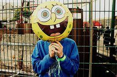 Spongebob balloon!