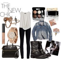 """Rebel Chic - Fall Wardrobe 2013"" by lustre-artistry on Polyvore"