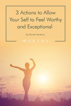 We want to help you feel Worthy!