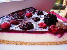 Cheesecake de Amoras e Framboesas para Valentine's Day!