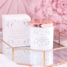 Spring has come and the flowers are in full bloom. Let yourself bask in the aroma of Magnolia, Pure Rose, Rosewood & Vanilla whilst sipping on chilled Cucumber water. Natural Candles, Soy Candles, Scented Candles, Candle Jars, Fragrant Candles, Give You Up, Lily Of The Valley, Soft Suede, Magnolia