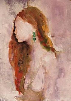 "Saatchi Art Artist Fanny Nushka Moreaux; Painting, ""Study for Turquoises, 2013"" #art"