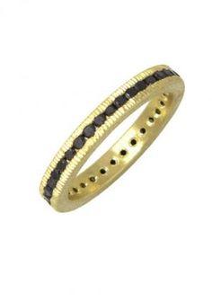 Todd Reed Black Diamond Band TRDR400 | Oster Jewelers, Denver Colorado #MyBridalStyle #MyDiamondStyle