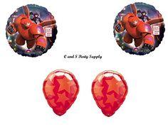 BIG HERO 6 Disney Balloons Birthday party Decoration Supplies Hiro Baymax Movie, http://www.amazon.com/dp/B00P6VVE9Y/ref=cm_sw_r_pi_awdm_ig6Xub08D7ZVR