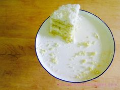 last piece (of coconut layer cake) standing