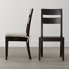Basque Java Wood Dining Chair and Cushion - style but not color