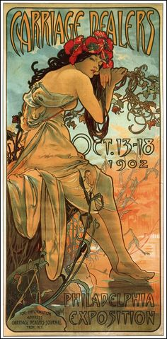Mucha  for the Philly exposition