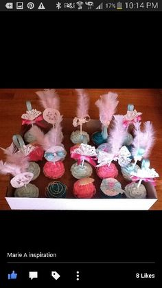 Marie a cupcakes