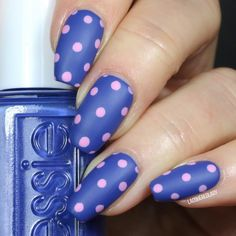 Lend a preppy vibe to your nails in this dotticure by Jayme using her gifted  #essielove spring 2017 nail polish collection in All The Wave! Let the fun begin with this limited edition shade. Products were gifted to the artist free of charge as part of the Preen.Me VIP program together with essie.