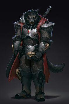HUMANOID Werewolf armor plate