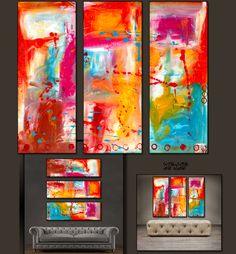 'Beautiful splash' is a 100% hand-made painting, created with acrylic paints on high-quality canvas. Painting is coated with high-gloss varnish to protect it fr