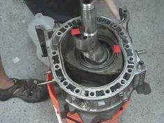 Mazda rotary engine rotational demonstration - YouTube