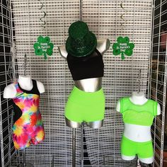 Everyone is Irish on St Patrick's Day! ☘️🇮🇪 We're wearing green to celebrate! Hope everyone has a fantastic day! #oytdancewear