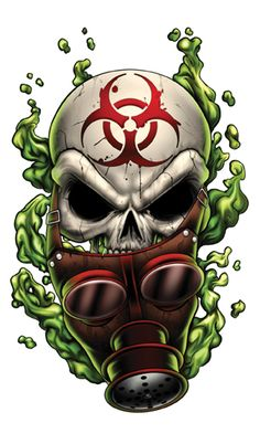 The Tattoo company I freelance for is having me design a series of 12 skull themed illustrations. Here& number Gassy. Honestly I know the subject matter can be a little cliche but I am . Gas Mask Art, Masks Art, Graffiti Art, Koch Tattoo, Skull Pictures, Skull Artwork, Skull Wallpaper, Airbrush Art, Deadpool Wallpaper