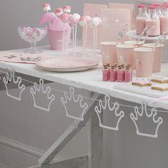 Décoration anniversaire fille princesse - Princess party decor
