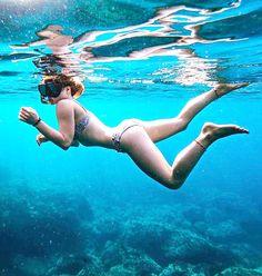 Snorkelling, Photo And Video, Videos, Bikinis, Instagram, Bikini, Bikini Tops, Bikini Set
