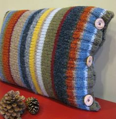 beach stripes throw pillow - Google Search