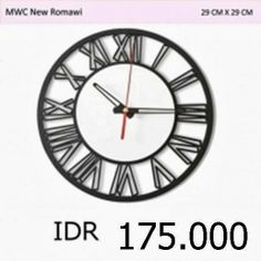 MWC New Romawi - GALLERY JAM DINDING UNIK 4ad71a1d49