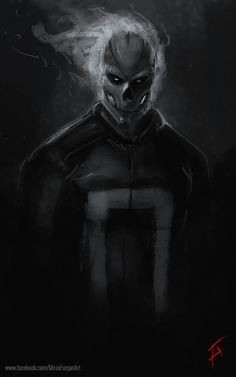 Ghost Rider (30 mins Paint), Furqan Adil on ArtStation at…