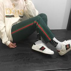 Search results for Gucci Sneakers::allCategories:Womens on Matches Fashion Site US Gucci Ace Sneakers, Gucci Loafers, Gucci Shoes, Gucci Fashion, Urban Fashion, Mens Fashion, High Fashion, Gucci Outfits, Fashion Outfits