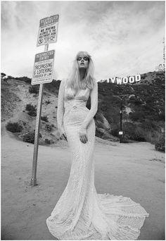 Inbal Dror Wedding Dresses 2014 Los Angeles Collection - Nu Bride