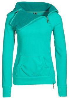 Sweatshirt - turquoise.