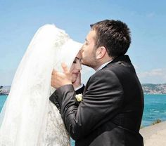 Now you may kiss the bride.  source: https://www.facebook.com/HalalLoveRelationship