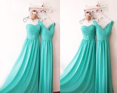 tiffany blue bridesmaid dress on Etsy, a global handmade and vintage marketplace.