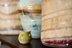 A baby bud vase among giants.   @ceramicdesignbycherie