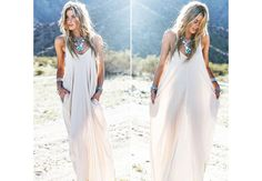 DIY// How To Make A Maxi Dress ( Easy Sewing)