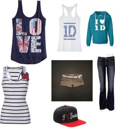 """one direction clothes!!!!"" by ktkatelynt on Polyvore"