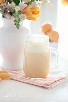 Craftberry Bush: Healthy Mandarin Orange Cream Smoothie