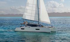 Sailing catamaran - New 47 - Fountaine Pajot