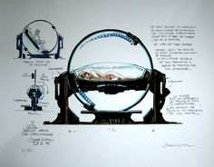 The Fifth Element: 40 Original Concept Art Gallery - Daily Art, Movie Art Environment Concept Art, Environment Design, Classic Sci Fi Movies, Gnu Linux, Bilal, Concept Art Gallery, Luc Besson, Morris, Fifth Element