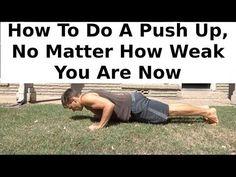 Anyone Can Do Push Ups: Here's How - YouTube