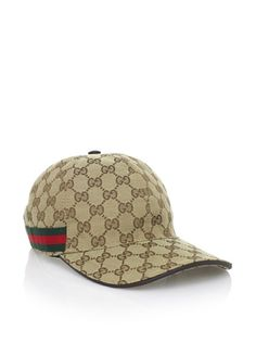 e456efde7359d5 39% OFF Gucci Men  s Logo Baseball Hat (Tan)