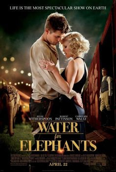 Water for Elephants. Am loving the book so far, hopefully the film will be good as well.