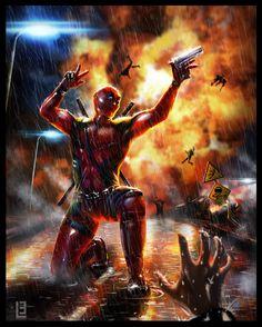 #Deadpool #Fan #Art. (Epic Douchebag) By:Little-Lion-Lady. (THE * 5 * STÅR * ÅWARD * OF: * AW YEAH, IT'S MAJOR ÅWESOMENESS!!!™)[THANK U 4 PINNING!!!<·><]<©>ÅÅÅ+(OB4E)
