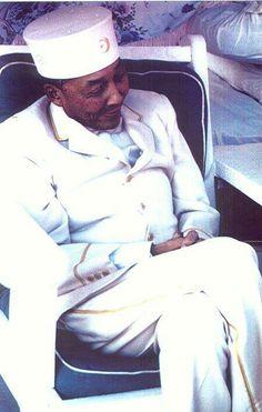 Nation of Islam leader Elijah Muhammad (formly Poole)