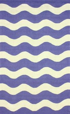 Rugs USA Quinta Outdoor Waves Blue Rug