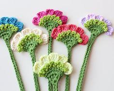 Flower bookmark, Handmade crochet bookmark, Book accessories, Crochet gifts, Unique Bookmark