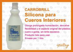 Silicona para Cueros Interiores. Envase por 1 litro.