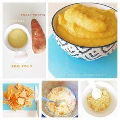 Egg yolk baby puree -  a super nutritious baby puree