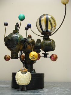 Mixed media assemblage by urbandon 2009
